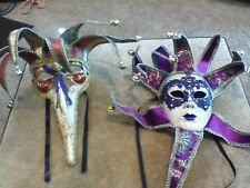 2 �� Mardi Gras Carnival Venetian Masquerade Mask, purchased while in Italy