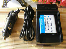 Battery BP-70A + charger FOR SAMSUNG SL50 SL600 SL630 TL105 ES74 PL80 TL205