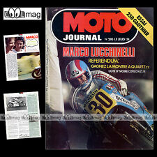 MOTO JOURNAL N°295 GAUTHIER 250 DUCATI 350 SPORT DESMO 500 GTV 125 SIX DAYS 1976