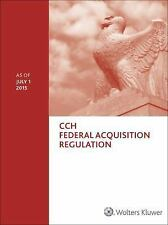 Federal Acquisition Regulation (FAR) - as of July 2015, Wolters Kluwer, Good Boo