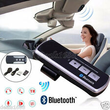 Per auto Multipoint Mani libere Bluetooth Wireless Vivavoce Kit Altoparlante USB