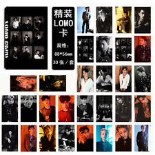 30pcs set Kpop Star EXO XOXO Collective LOTTO Lomo Cards Photo Poster New Gift