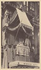 King George VI Queen Elizabeth Windsor Hotel Balcony MONTREAL Quebec 1939 PC