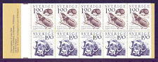 SWEDEN 1984 stamp booklet Mountain World um (NH) mint Animals Lemming Musk Ox #a