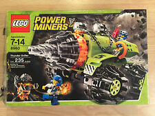 LEGO Power Miners Thunder Driller 8960 Complete, Excellent, FAST Shipping!!