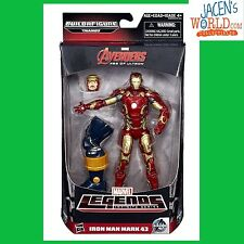 IRON MAN THE AVENGERS ACTION FIGURES MARVEL LEGENDS BAF THANOS 6""