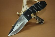 Couteau CRKT Ryan Model 7 Black Lame Acier 8Cr14MoV Manche Zytel CR6803