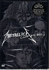 METALLICA - CLIFF EM ALL DVD NEW AND SEALED R1