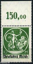 Dt. Reich 10 Mark Abschiedsserie 1920** Michel 137 II P OR geprüft (S9528)