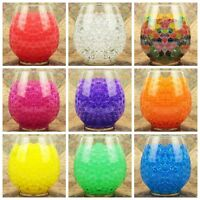 Wedding Flower Crystal Soil Beads Mud Decorations Water Jelly Gel Ball 1/10Bags