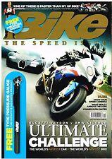 Bike Oct 2010 BMW S1000R v Bugatti Veyron MV Agusta F4 Aprilia RSV4R