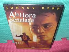 A LA HORA SEÑALADA - JOHNNY DEPP  - PRECINTADA