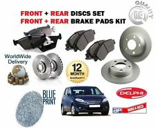FOR HONDA FRV 2.2DT CTDi 2005-  FRONT + REAR BRAKE DISCS SET AND DISC PADS KIT