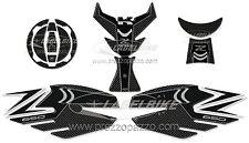 KIT DE PEGATINAS RESINA GEL 3D PROTECCIONES compatible para moto Z650 KAWASAKI