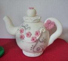 3D HANDMADE LARGE TEAPOT / TEA PARTY CAKE TOPPER/ birthday