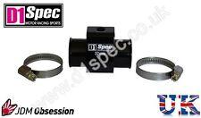 D1 Spec jauge de température de l'eau Adaptateur tuyau conjointe capteur 34 mm noir JDM racing