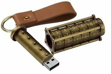 Cryptex 16 Gb Usb Flash Drive-Ultimate Geek Gadget! (Steampunk Estilo)