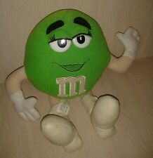 Nanco Mars 2001 Green M&M Plush 12""