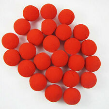 100% Brand New 10pcs Red Ball Foam Circus Clown Nose Comic Party Halloween Costu