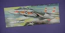 Airfix Shop Advertising Card 1970s - Grumman F-14A Tomcat US Fighter Bomber