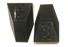 LEGO TECHNIC - 4856 Inverted wedge 6x4 - Black - pack of 2
