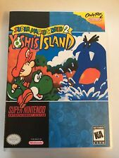 Yoshi's Island - Super Nintendo - Replacement Case - No Game