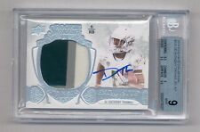 DE'ANTHONY THOMAS 2014 EXQUISITE COLLECTION PATCH RC AUTO #103/110 BGS 9 10