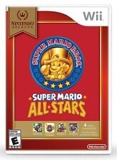 Super Mario All-Stars - Nintendo Selects [Nintendo Wii, NTSC Video Game] NEW
