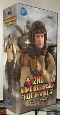 DID BOX FIGURE WWII 2ND ARMORED DIV HELL ON WHEELS SSGT DONALD 1/6 ACTION TOYS