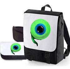 JACKSEPTICEYE DOUBLE PACK BAG/PENCIL CASE (EYE) BAGBASE PERFECT FOR SCHOOL