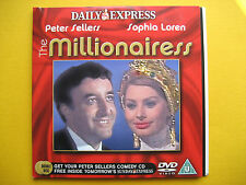 THE MILLIONAIRESS,  A DAILY EXPRESS NEWSPAPER PROMOTION  (1 DVD)