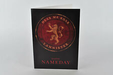 HAPPY nameday CARD! CASA Tyrion, gioco di THRONES, George R. R. MARTIN, TYRION