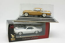 Yatming 1/43 - Lot de 2 Studebaker Golden Hawk et Pontiac Firebird Trans Am