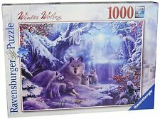 RAVENSBURGER PUZZLE*1000 TEILE*WINTER WOLVES*WÖLFE*RARITÄT*OVP