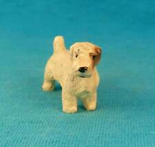 Old metal terrier dog vintage antique sealyham terrier FREE Shipping