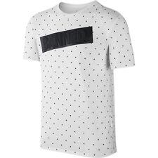 MEN JORDAN AJ 1 BANNED T-Shirt White [z]842244-100 Small