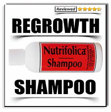 NUTRIFOLICA REGROWTH SHAMPOO DHT Hair Loss Regrow Thin Thinning growth alopecia