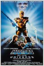 """""""MASTERS OF THE UNIVERSE"""" Movie Poster [Licensed-NEW-USA] 27x40"""" Theater Size"""