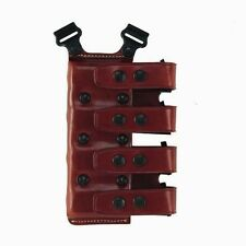 Galco QCL Quad Magazine Carrier Tan 9/40/357 Double Stack Mags QCL24