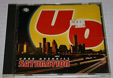 Urge Overkill - Saturation - 1993 Hard Rock CD [BMG] VG+ Condition Fast shipping