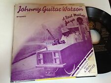 "JOHNNY GUITAR WATSON - SPANISH ONE SIDED 7"" SINGLE SPAIN A REAL - FUNK"