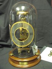 Rare House of Faberge Franklin Mint Imperial Skeleton Clock MIB