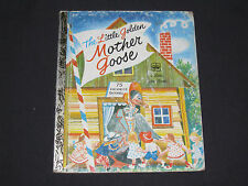 Little Golden Book  The Little Golden Mother Goose  40 years old