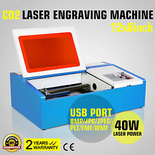 40W CO2 USB 220V Laser Engraving/Graveur Laser machine Gravure Area 300x200mm