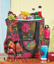 Oversized Insulated Cooler Backpack Camping Hiking Beach Sports Picnic Flower