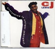 (BU929) CJ Lewis, Everything is Alright (Uptight) - 1994 CD