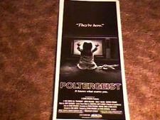 POLTERGEIST ORIG INSERT 14x36 MOVIE POSTER 1982 SPIELBERG