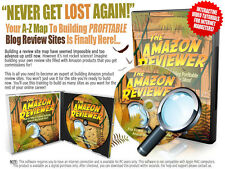 Start Building Your Own Network Of Amazon Review Sites- Software Videos on 1 CD