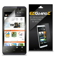 4X EZguardz LCD Screen Protector HD 4X For Micromax Canvas Fire 4 A107 (Clear)