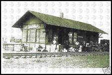 Minneapolis and St Louis RR M&StL Depot Train Station in Otho Iowa NEW POSTCARD